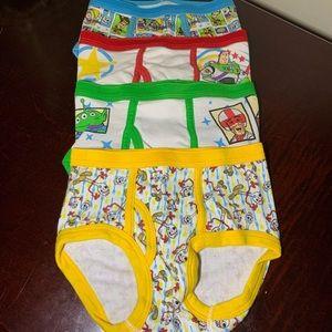 Boys Disney Pixar Toy Story Brief Underwear